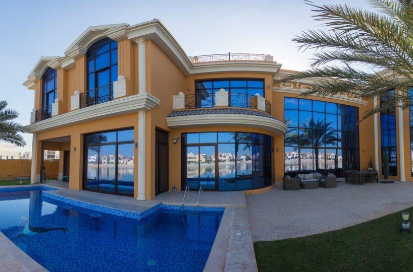 Exclusive European Palm Home